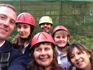 Councillors take on scouts at activity day