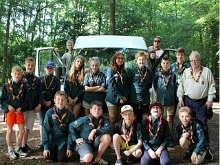 The 5th Petts Wood Scout Group's minibus stolen